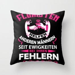 Florists Help Throw Pillow