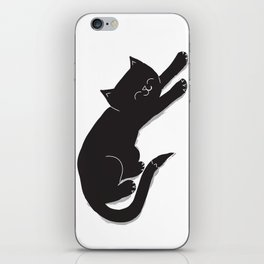 Happy Kitty iPhone Skin