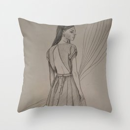 Whatever, Man Throw Pillow