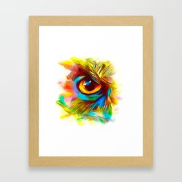 The Eye Is Upon You Framed Art Print