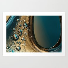 Ice Blue Art Print