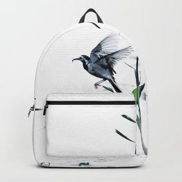 Little Bird (Wagtail - Eurasian Songbird) by The Reeds #decor #society6 #buyart Backpack