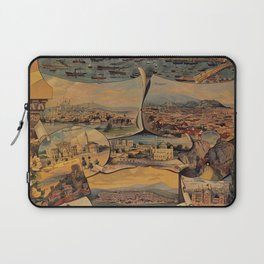 Oriental railways to Constantinople Laptop Sleeve