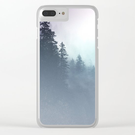 Faded Echos Clear iPhone Case