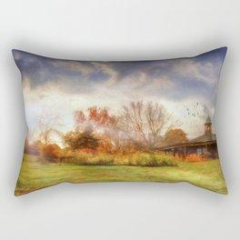 The Garden Pavilion Rectangular Pillow