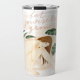 Let yourself grow Travel Mug