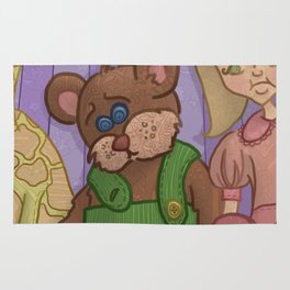 Corduroy: The Buttonless Bear Rug