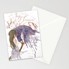 A Piece of her Soul Watercolor Stationery Cards