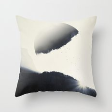 out of balance Throw Pillow