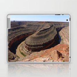 A Meander Of The Goosenecks Laptop & iPad Skin