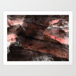 Grunge texture Art Print