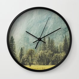 Yosemite Valley IV Wall Clock
