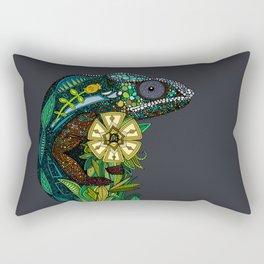 chameleon pewter Rectangular Pillow