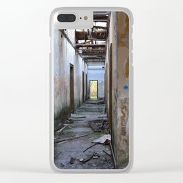 Abandoned Cotton Factory Clear iPhone Case