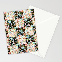 Millefiori Floral Patchwork Stationery Cards