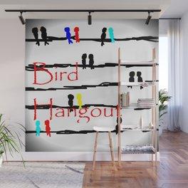 Bird Hangout Wall Mural