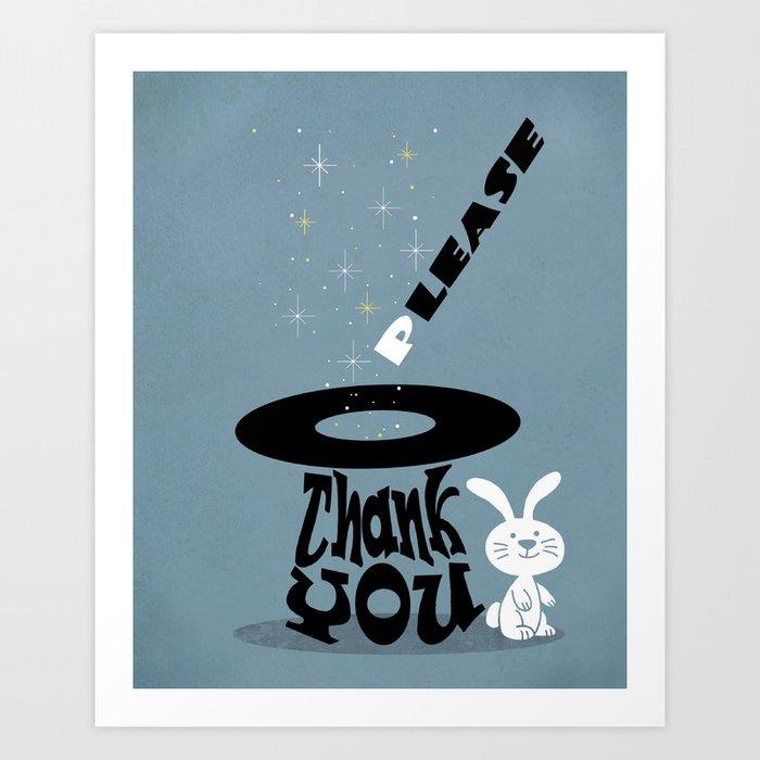 Magic Words Art Print