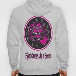 fight cancer like a boss Hoody