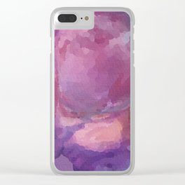 Psychedelic Flatulence Clear iPhone Case
