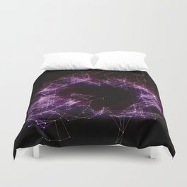 Artificial Constellation Duvet Cover