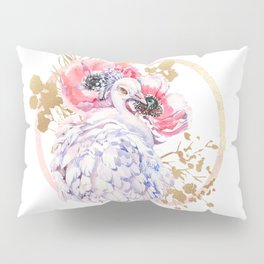 Every Peacock Wants A Lovely Peahen Pillow Sham