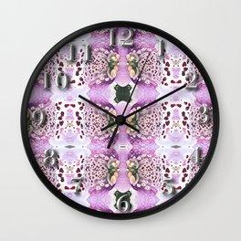 Iris Eyes Wall Clock
