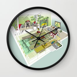 Agrarian Wall Clock