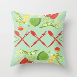 Cucina Italiana Throw Pillow