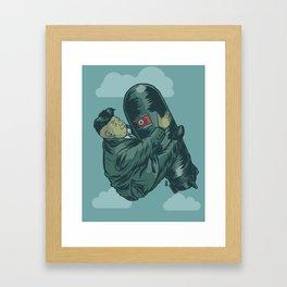 H-Bomb Kim Framed Art Print