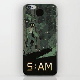 5 AM iPhone Skin