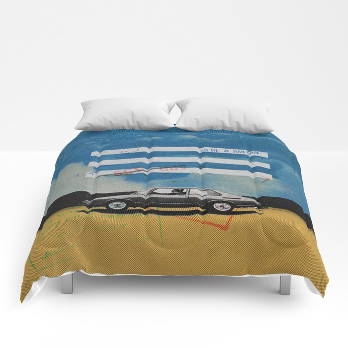 W. Rong   Collage Comforters