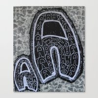letters Canvas Prints featuring Letters. by Ryan Williams Photography and Art. http: