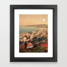 Is This The City We Dreamt Of Framed Art Print