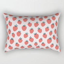 Strawberries Rectangular Pillow