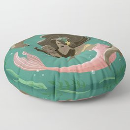 Otterly Adorable Floor Pillow