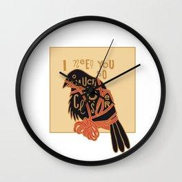 TRANSATLATANTICISM Wall Clock