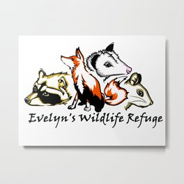 Wildlife Rescue Metal Print