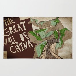 The Great Wall of China  Rug