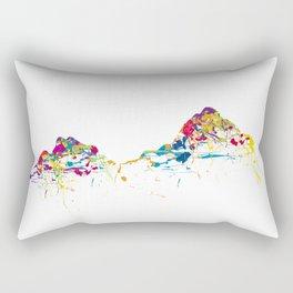 MOUNT MYTHEN MOUNTAINSPLASH color Rectangular Pillow