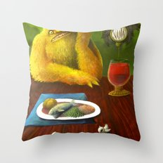 Waiting For Now Throw Pillow