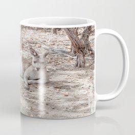 Relaxing Kangaroo, Australia Coffee Mug
