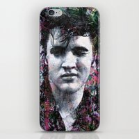 elvis iPhone & iPod Skins featuring ELVIS PRESLEY by Vonis