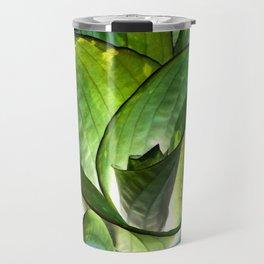 Hosta - Inverted Art Travel Mug