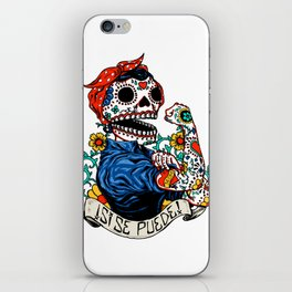 We Can Do It Skull iPhone Skin