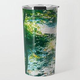 Sparkling River in the Virginian Forest Travel Mug