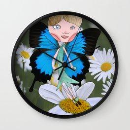 the flower fairy Wall Clock