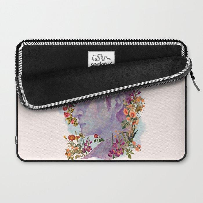 STURDMAN WITH FLOWER DECORATION Laptop Sleeve