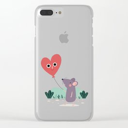 Hold Me Tight Clear iPhone Case