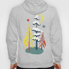 Retro Skiing  Hoody