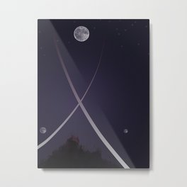 Moonbow, Part II Metal Print